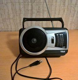 Радіоприймач переносний VITEK VT-3580 GY