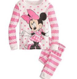 104 cm yükseklikte yeni güzel küçük pijamalar