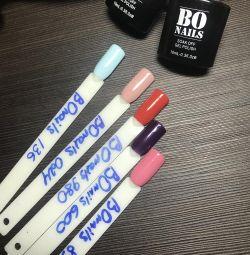 Gel varnish BO nails