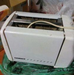 Новый в упаковке тостер SANUSY SN-2507