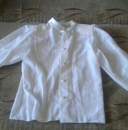 Блузка на 8-10 лет