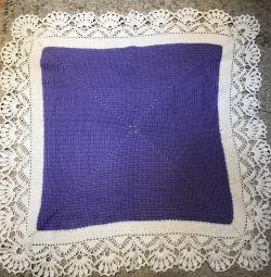Pătuț cald tricotat