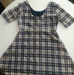 Сукня з мереживним малюнком юб у сукні полусолнце