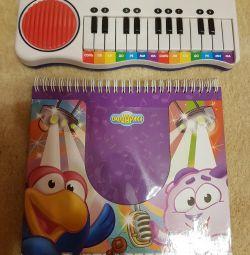electronice pian și carte