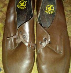 Γυναικεία παπούτσια USSR δέρμα