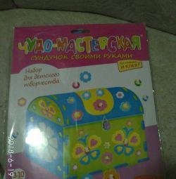 Box for children's creativity