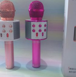 Karaoke bluetooth microphone new