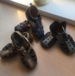 Sandals for children 29p (3 pairs)
