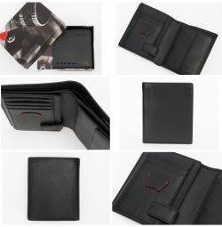 Δερμάτινο πορτοφόλι από γνήσιο δέρμα