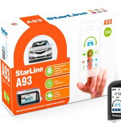Car Alarm StarLine A93 ECO