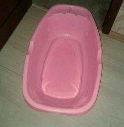 Bath for children.
