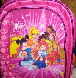 Рюкзачок для дівчинки, легкий, зручний