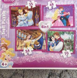 Yeni Disney Prenses Büyük Yapboz