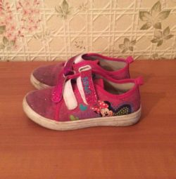 Pink sneakers for marking size 31