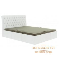 Κρεβάτι Prima 1.6 (λευκό)