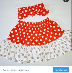 Skirt and headband