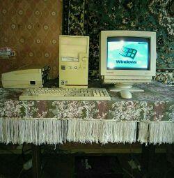 Настільний комп'ютер.
