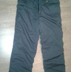 Warm special trousers