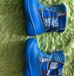 Παπούτσια κρύο φθινόπωρο, ζεστό χειμώνα