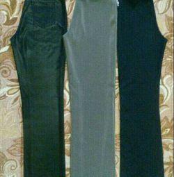 4-pantaloni (b. 40-44) pantaloni (b. 42-46)