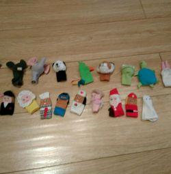 Набор Пальчиковые куколки