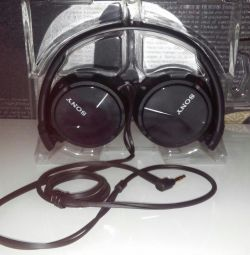 Căști SONY MDR-ZX310, suspendate, cu fir
