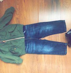 Вещи детские курка джинсы кеды