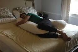 Pillow for pregnant Kolbasyatina
