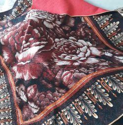 Одеяло - покрывало 2 в 1 лиевцевая сторона атлас в