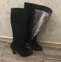 Italian winter boots. Marco pinei