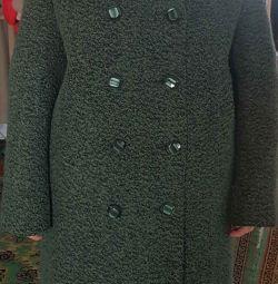 Пальто жіноче, нове, р.48, рост164-170, шерсть