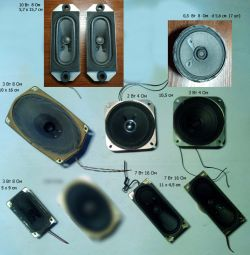 different speakers