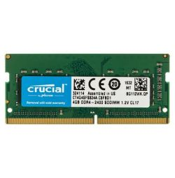 Оперативна пам'ять SODIMM Crucial 4Gb 2400 DDR4