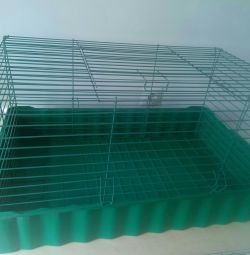 Cage 79 * 46 * 42 rabbit, pigs, hedgehogs