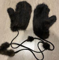 норкові рукавиці