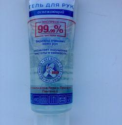 Refreshing hand gel