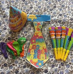 Набор для празднования дня рождения