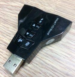 New, external sound card 7.1