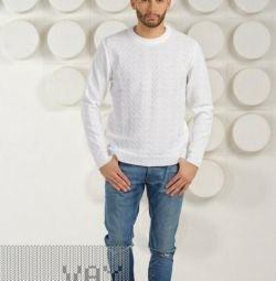 New men's sweater