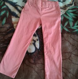 Pants summer girl 104 height (3-4 g) GeeJay