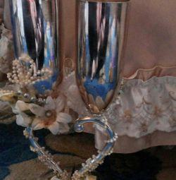 gift glasses 2pcs. (Wedding)