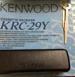 Înregistrator de casete radio Kenwood KRC-29Y