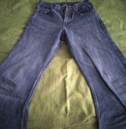 Прямі чоловічі джинси
