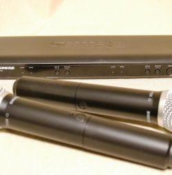 Shure BLX288CN/PG 58-Q25 с 2-мя радиомикрофонами