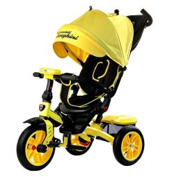 New Lamborghini L5 bicycle tricycle yellow