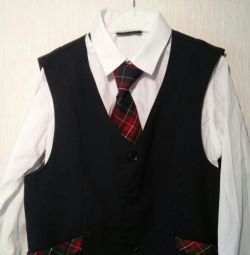 Shirt and vest size 134