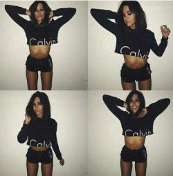 Women's Calvin Klein set (shorts and jacket)