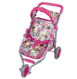 New! Stroller for three-wheeled dolls