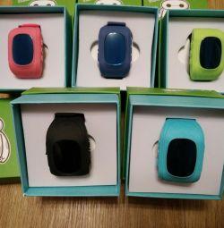 Дитячі годинники Q50 з GPS Smart Baby Watch