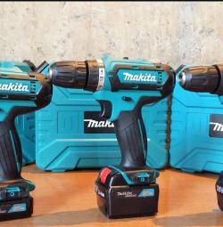 Makita 12V, 14,4V, 21V, 26V Screwdriver New